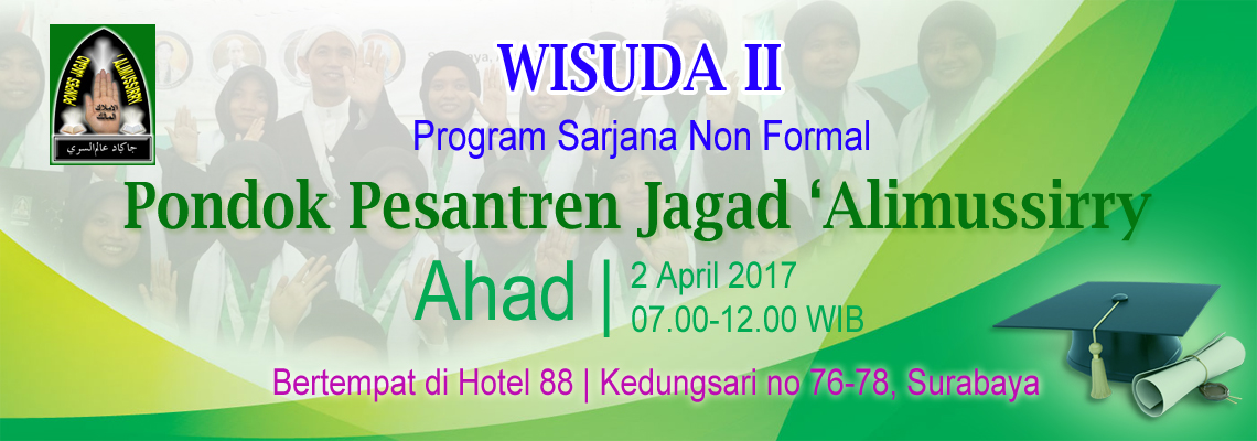 Wisuda II Ponpes Jagad 'Alimussirry